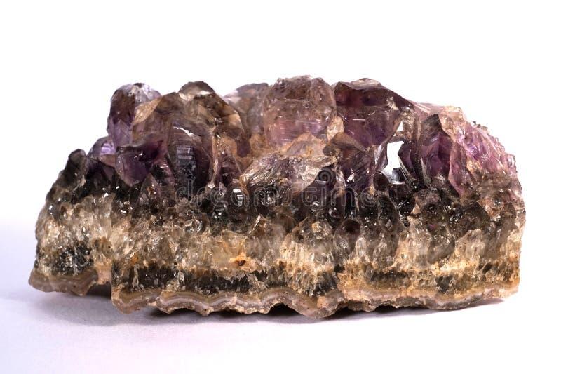 Purple Amethyst stock photos