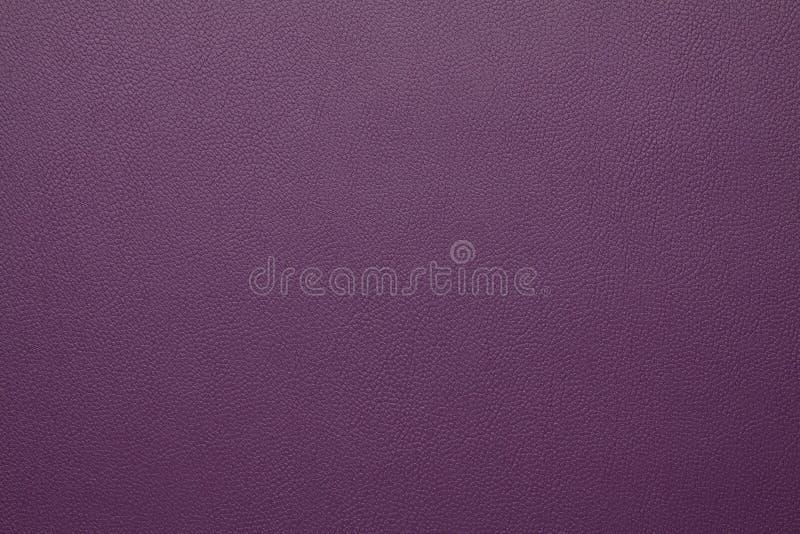 Artificial leather texture Purple color stock photos