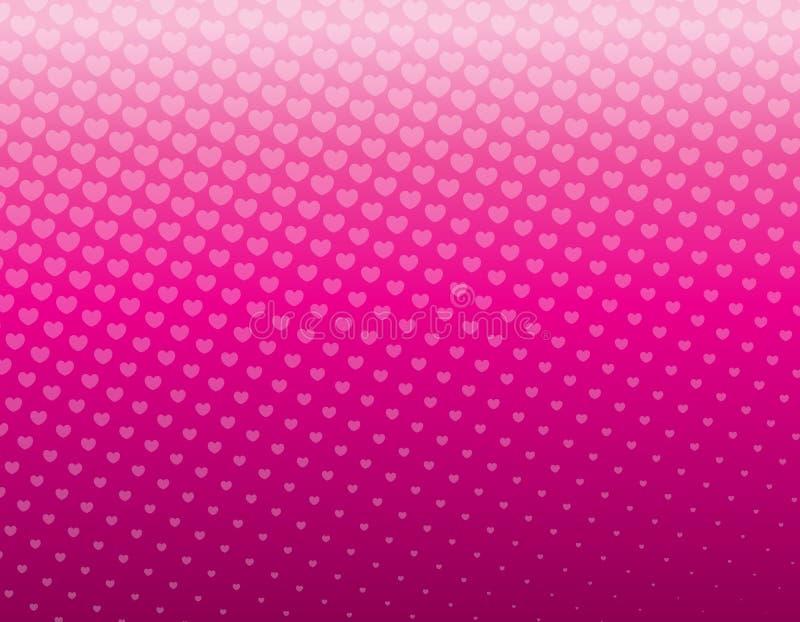 Pink background vector illustration