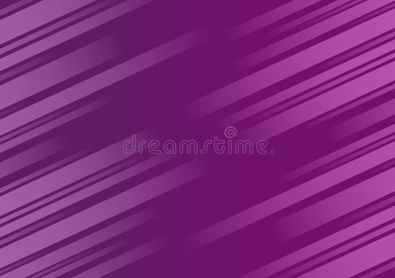 Purple background textured diagonal linear wallpaper design stock illustration