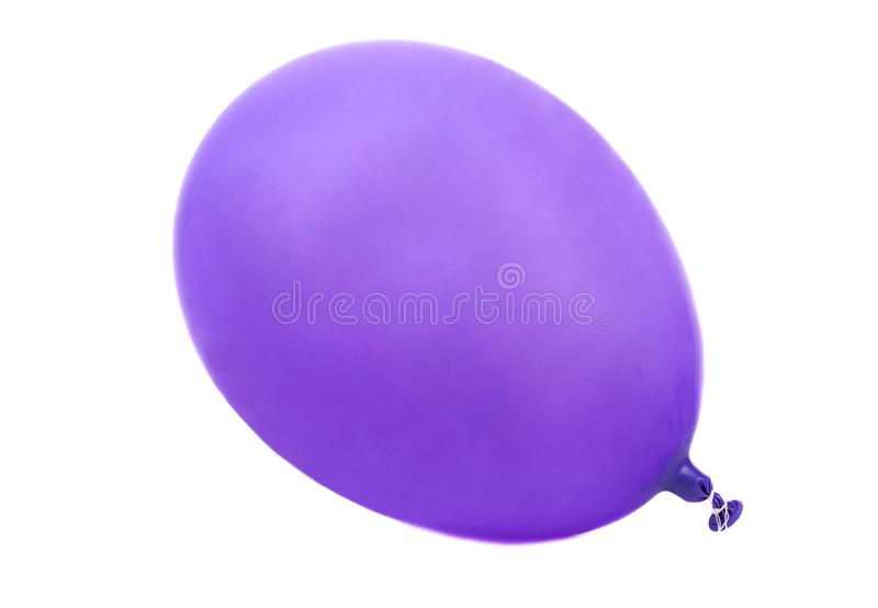 Purple balloon royalty free stock images