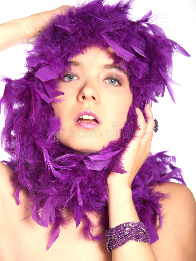Download Purple beauty stock image. Image of glamorous, pretend - 16890123