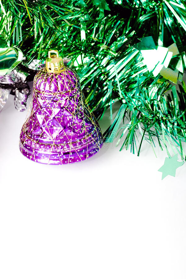 Download Purple bell on green stock image. Image of green, celebration - 11513675
