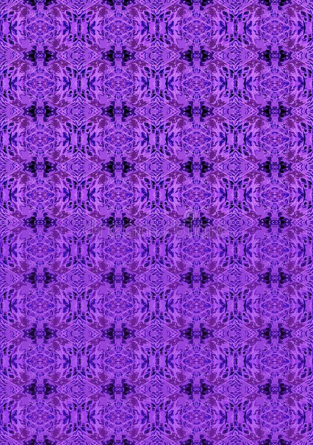 PURPLE AND BLUE DESIGN PATTERN vector illustration