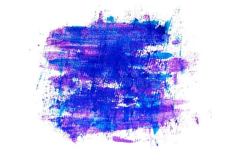 Purple blue grunge painted background stock illustration