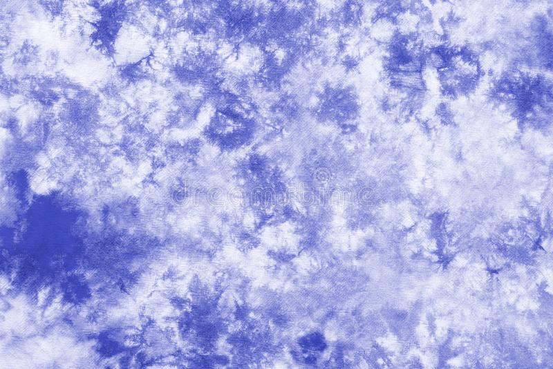 Purple blue tie dye pattern abstract background stock photos