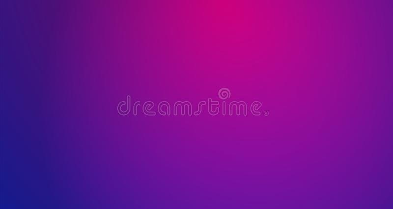 Purple blurred vector background with halftone effect. Smooth pink and violet gradient stock illustration