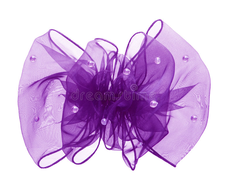 Download Purple bow stock photo. Image of bead, desire, gift, clip - 6724510