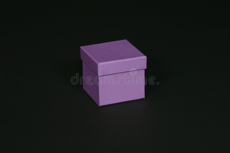 Download Purple box stock photo. Image of present, yellow, pink, contrast - 98794