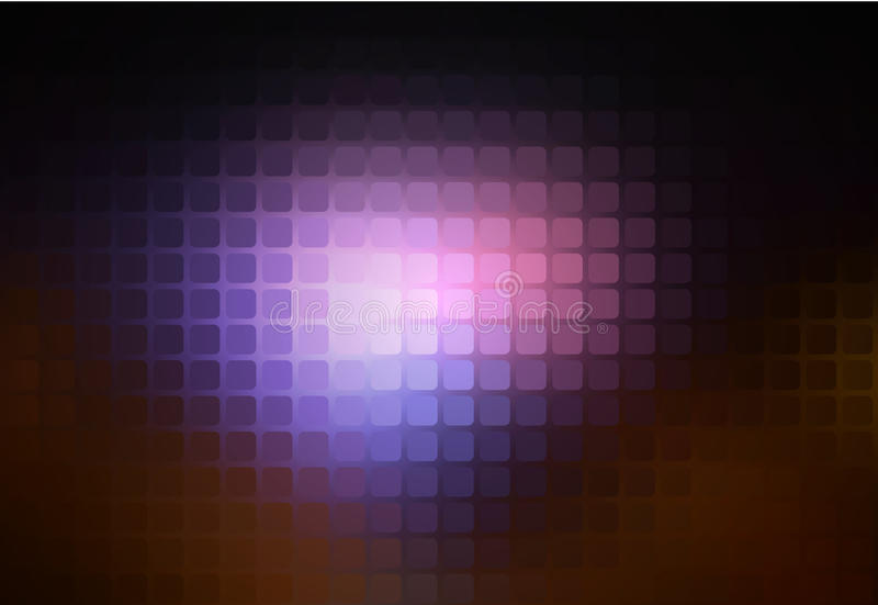 Purple brown black abstract rounded mosaic background vector illustration