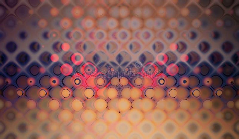 Purple bubble pattern stock image