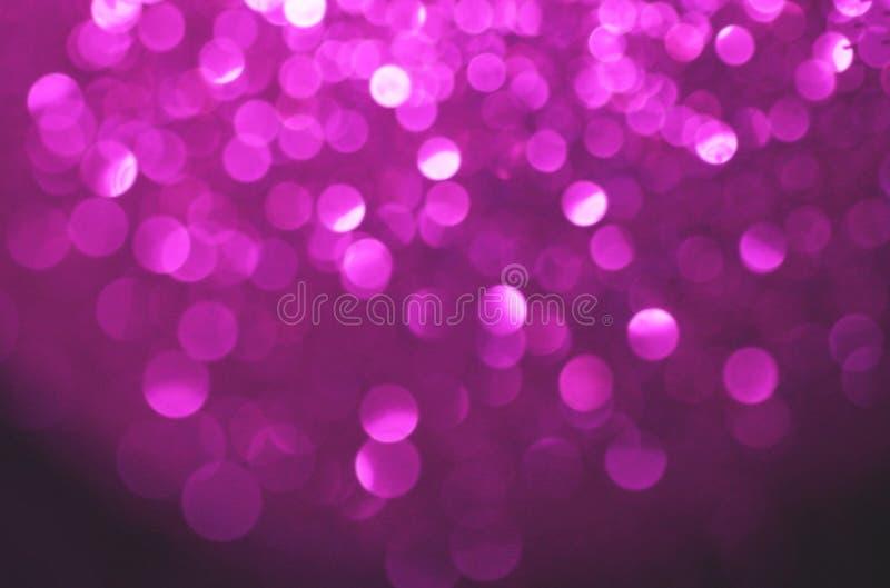 Purple bubbles. Fun defocused background royalty free stock photos