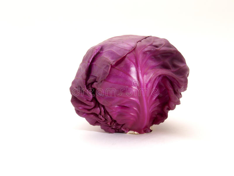 Purple cabbage royalty free stock photo