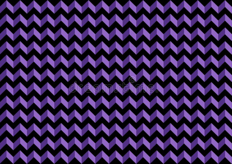 Purple chevron seamless pattern background. Illustration design royalty free illustration