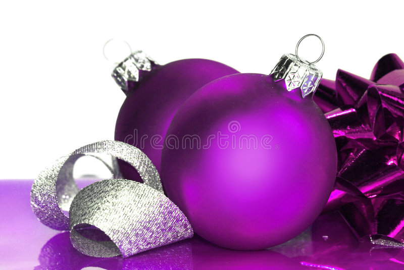 Purple Balls For Decoration Fair Purple Christmas Balls Stock Photoimage Of Decoration  2999652 2018