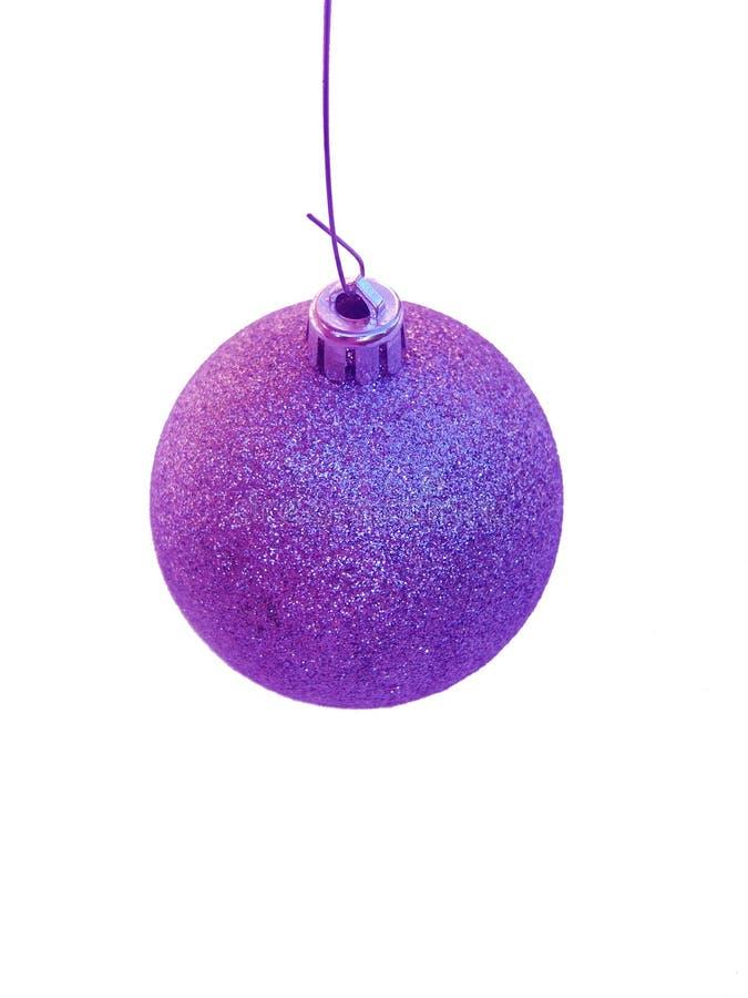 Purple Christmas Tree Ornament Royalty Free Stock Image - Image ...