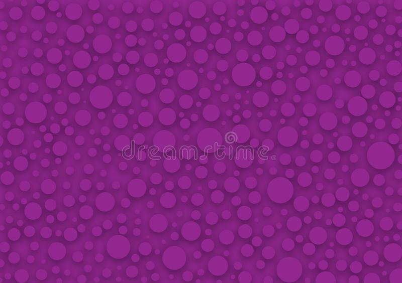 Purple circles background wallpaper design. For image and text use vector illustration