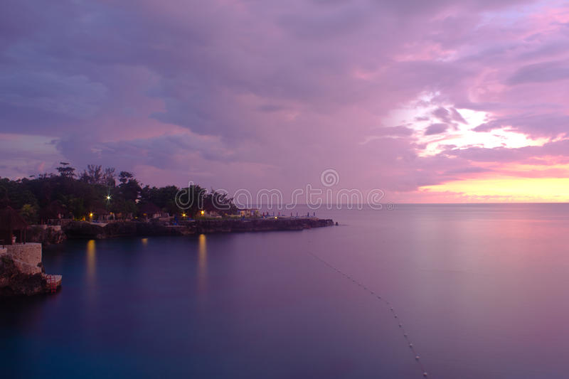 Download Purple Coastline Royalty Free Stock Images - Image: 20954399