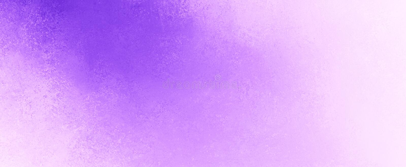 Purple color splash in diagonal light shaft or beam style design on white background with grunge texture. Pastel colors royalty free stock image