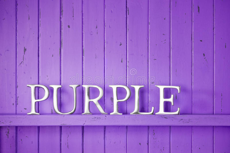 Purple Color Word Background Stock Image Image Of Violet