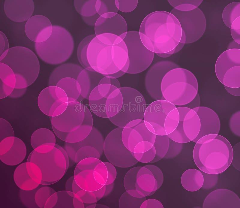 Purple colored bokeh background stock photo