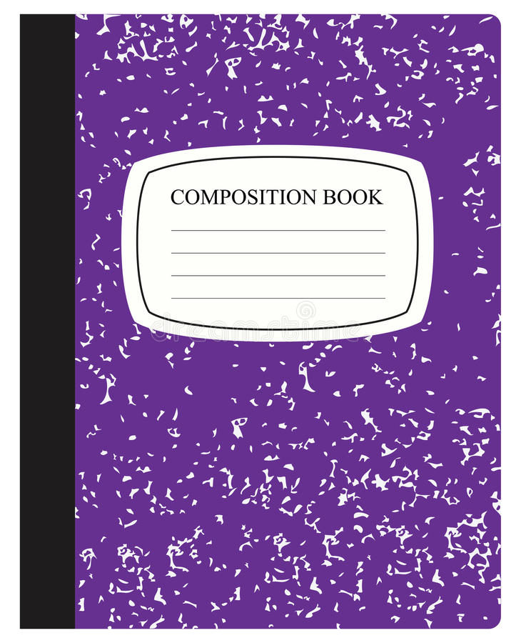 Book Cover Illustration Royalties : Purple composition book stock vector image of