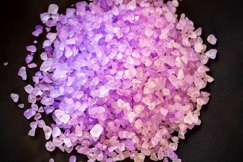 Purple crystal royalty free stock photo