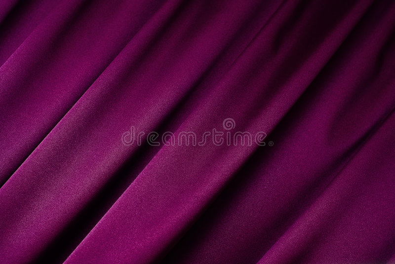 Purple curtain background. Purple curtain in close-up perfect for background stock photography
