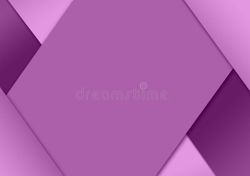 Purple cutout textured background design for wallpaper stock illustration