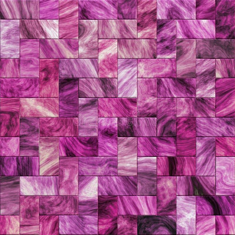 Purple designer tile royalty free illustration