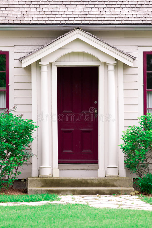 Download Purple Door stock image. Image of architechture, doorknob - 19823053