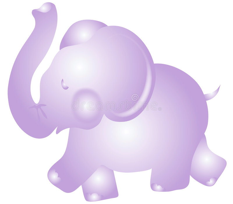 Download Purple Elephant Royalty Free Stock Photography - Image: 1444887