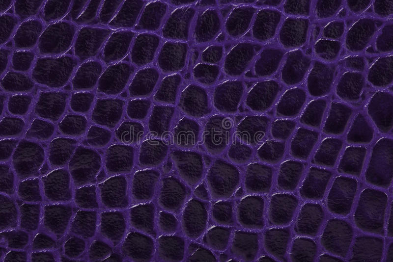 Purple embossed leather texture background stock image