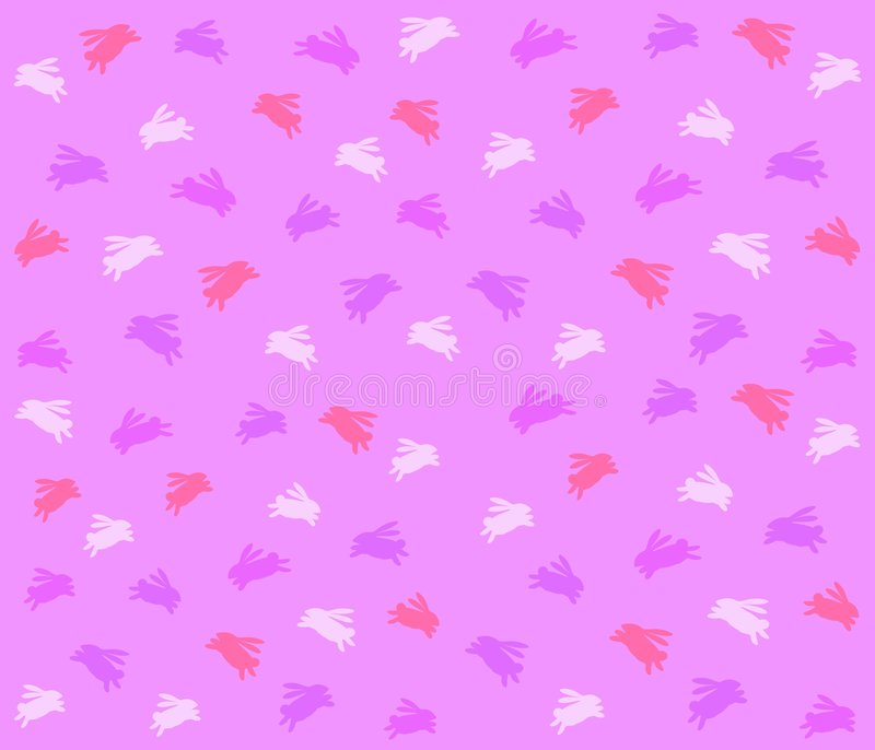 purple för bakgrundskanineaster modell royaltyfri illustrationer