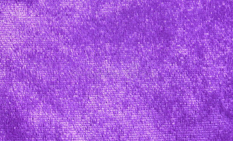 Purple fabric stock image