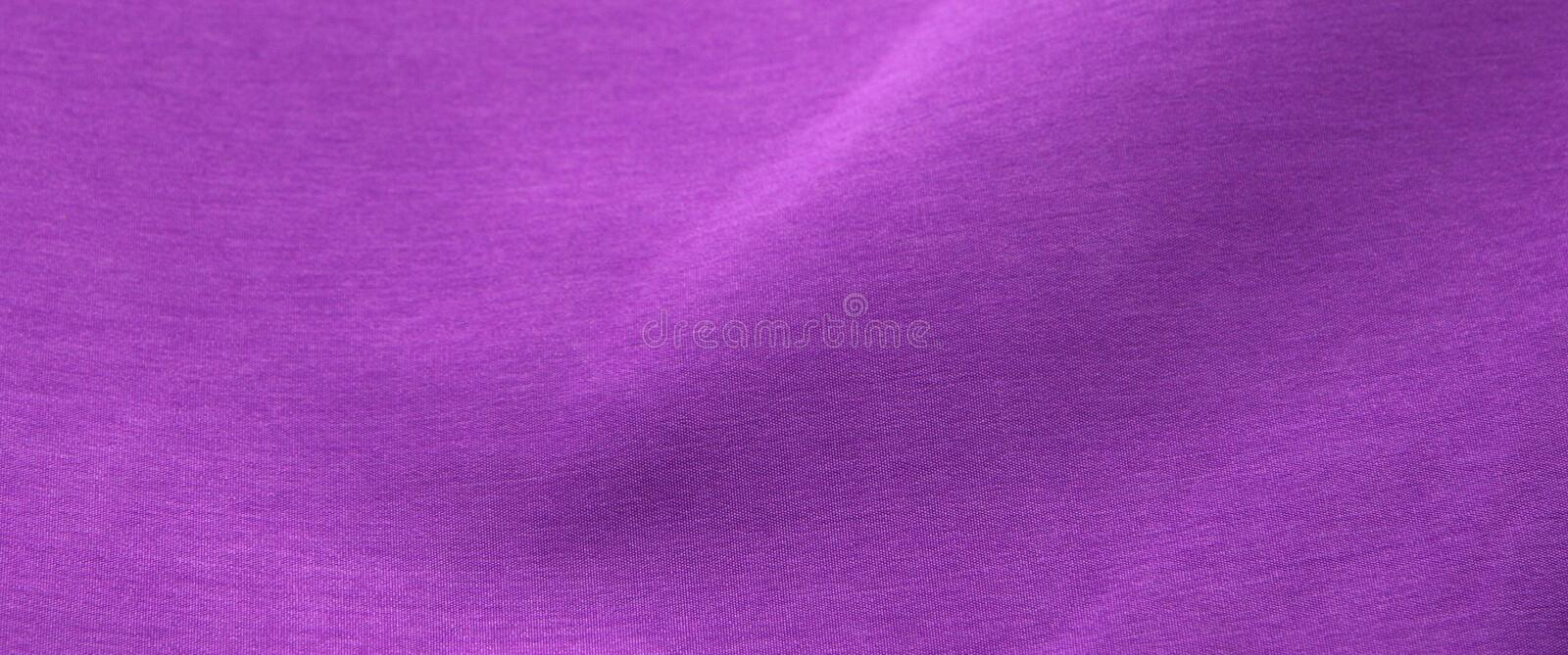Purple Fabric With Folds Royalty Free Stock Images
