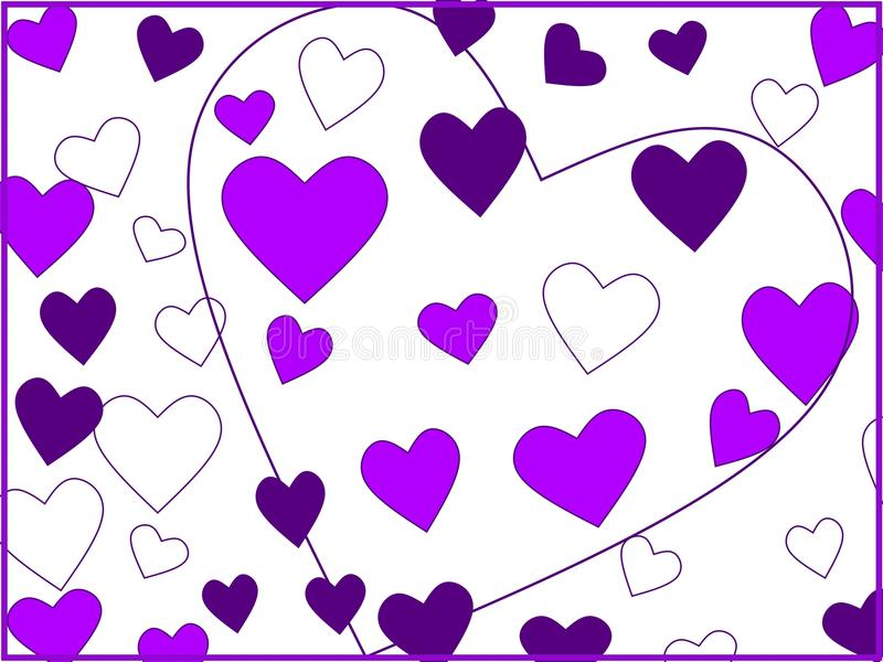 Purple fantasy. stock photography