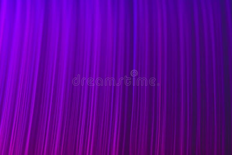 Purple Fiber Optics Abstract Background Royalty Free Stock Image