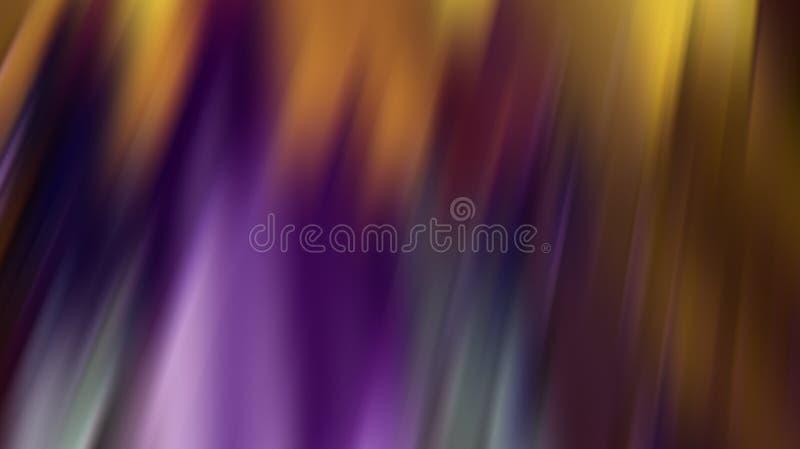 Purple fire Northern Lights stock illustration