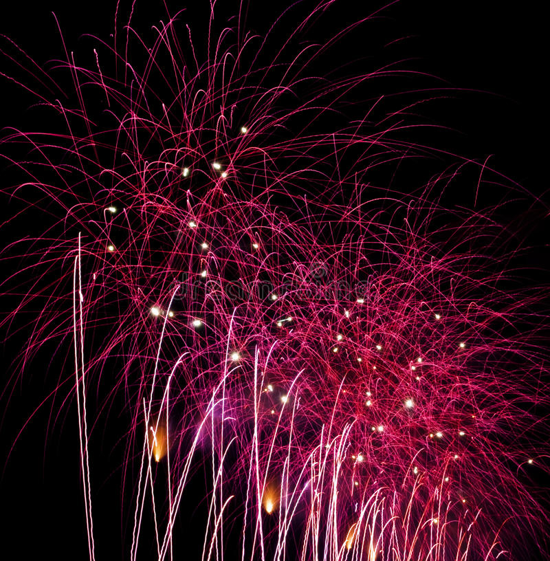 Download Purple fireworks stock image. Image of entertainment - 15210359