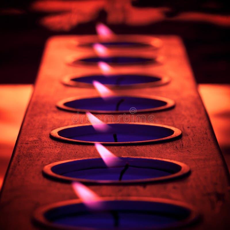 Purple Flame stock photos