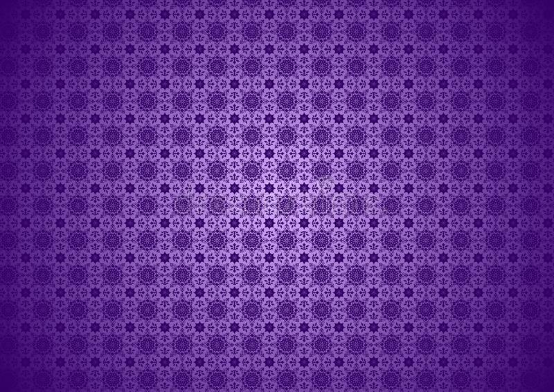 Download Purple Flora Nature Vintage Oriental Ornamental Chinese Arabic Islamic Imlek Ramadan Festival Pattern Texture Background