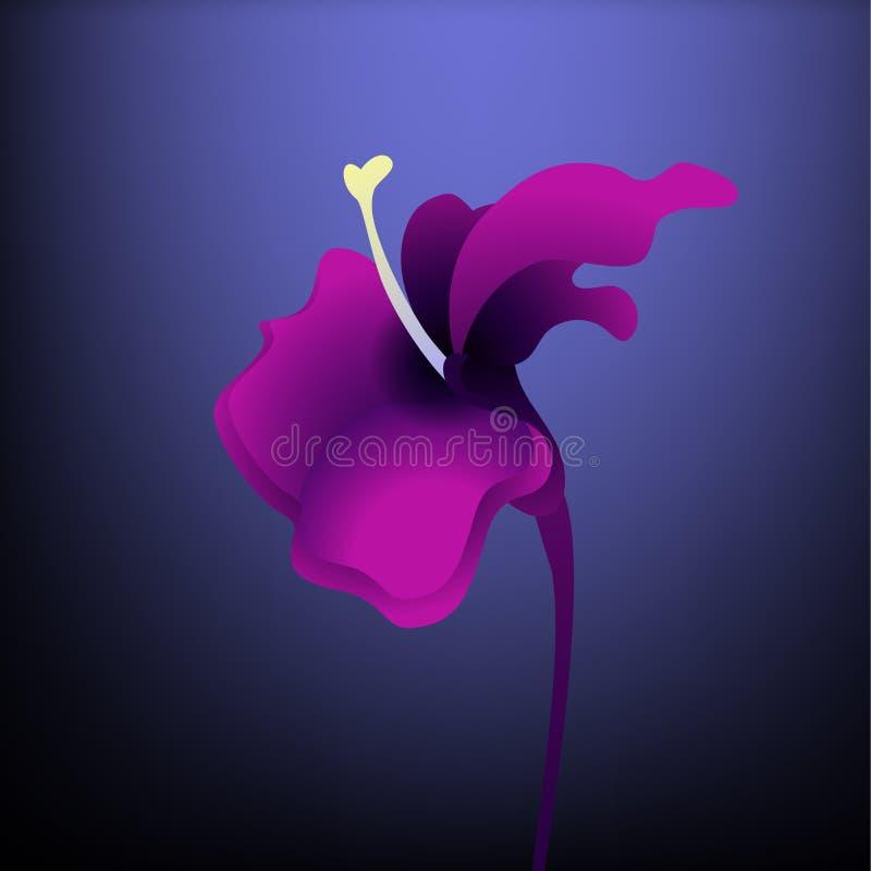Purple Flower royalty free illustration