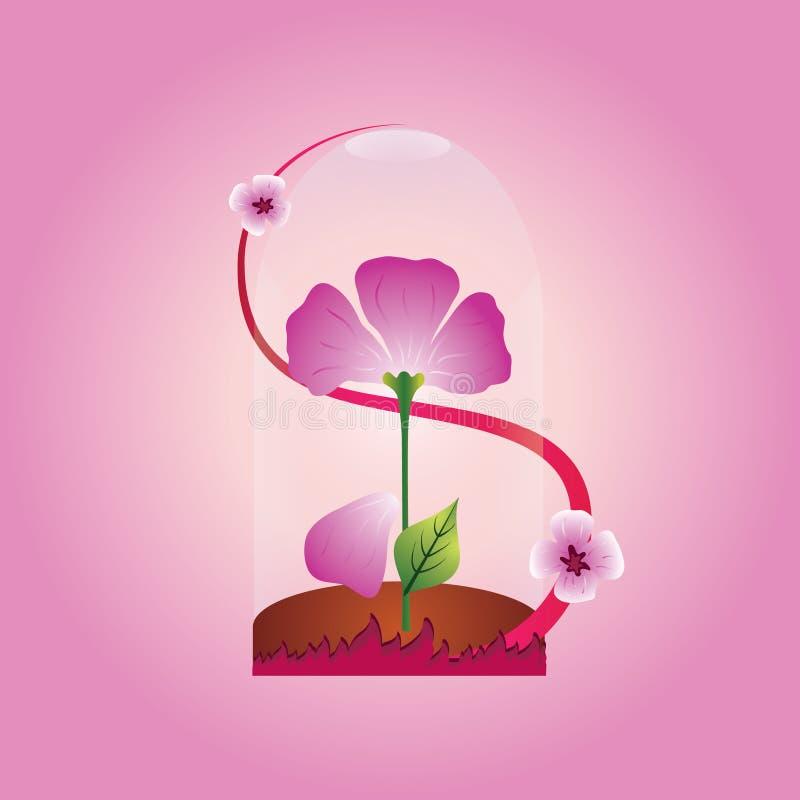 Download Purple flower stock vector. Image of image, bloom, beauty - 24677068