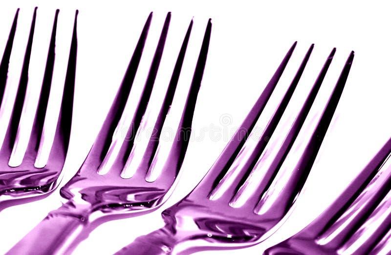 Download Purple Forks stock image. Image of diner, cutlery, eating - 63237