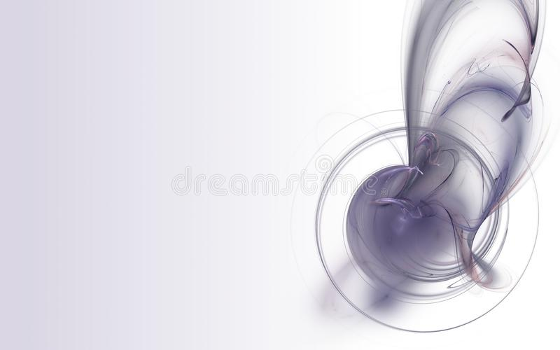 Purple Fractal stock images