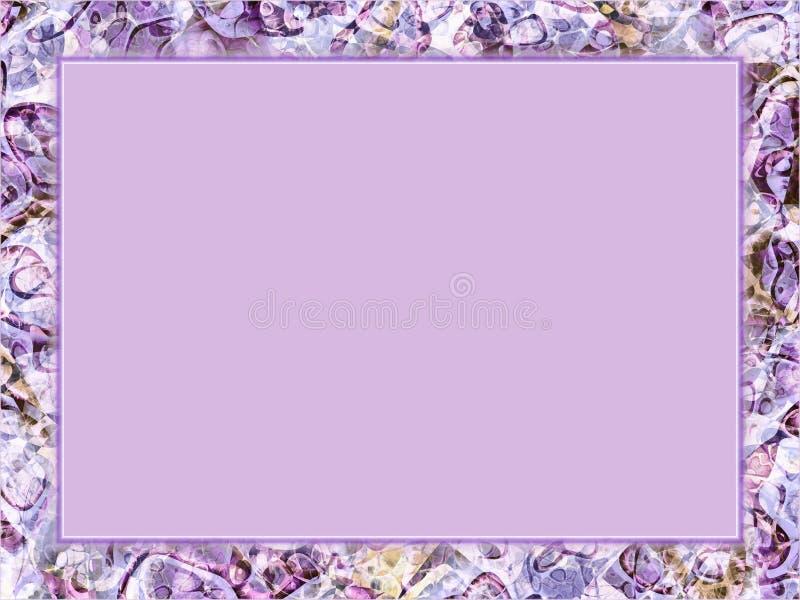 Purple Frame vector illustration