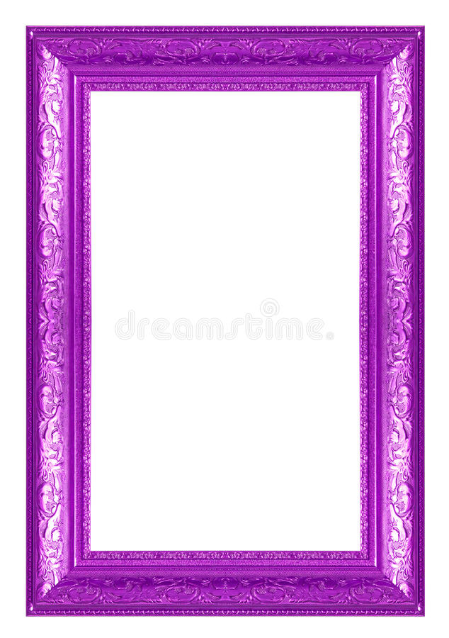 Purple Frames stock photo. Image of image, gallery, framework - 31546022