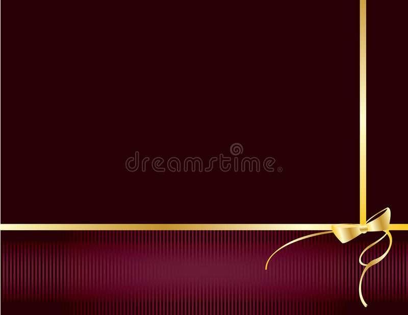 Purple and gold elegant background 3 royalty free illustration