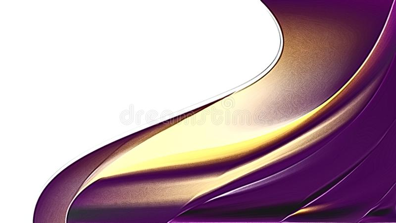 Purple and Gold Metal Background. Beautiful elegant Illustration graphic art design stock illustration